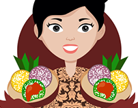 Pawon Klepon - Food Logo Design