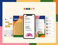 DONUT APP | UI/UX | Adobe XD