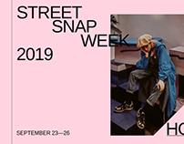 Street SNAP WEEK/Typography