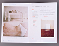 My work in catalog from Biennale of contemporary Art