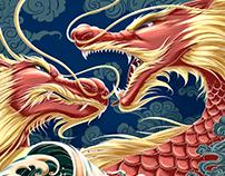 Poster for Edmonton Dragon Boat Festival