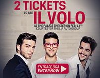 Il Volo Web Promotional Materials