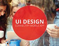 Connectify UI Design & Branding