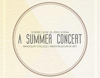 Summer Concert – Print Package