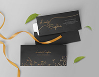 Free Wedding Invitation Mockup