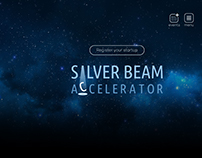 "Landing page ""Silver Beam"""