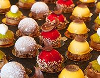 Buffet style desserts