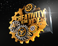"""Creativity is the Key"" - 3D/CGI"