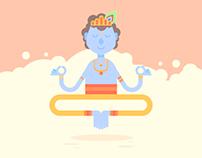 Krishna illustration
