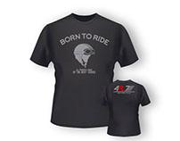 Modelo de la camiseta de 4R7