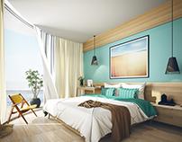 Ocean Gate Hotel suite