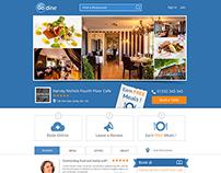 Go Dine Find Resurant Website