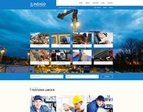 Indigo Labour Directory PSD Template