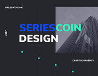 Redesign for new cryptocurrency website