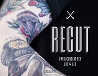 Brand Identity Recut Parrucchieri, per Lui & Lei.