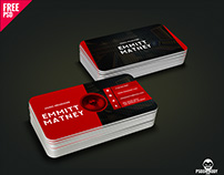 Music Visiting Card PSD Free Download