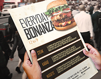 Flyer Template - Everyday Bonanza