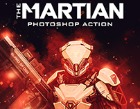 The Martian Photoshop Action