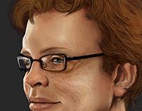 Realism Study - Digital Portrait