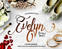 Evelyn Beautiful Typeface