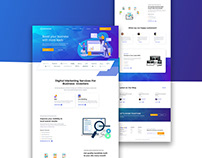 Elevated: Digital Marketing Agency Website Design