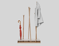 "COAT RACK ""HILKA"""