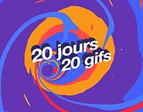 20 Jours 20 Gifs