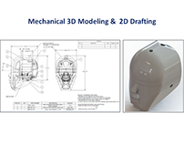 Mechanical 3D Modeling & 2D Drafting