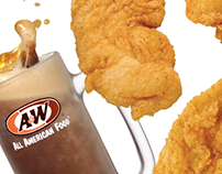 A&W Chicken Tenders Sales Event