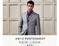 New Look Mens A/W 13 Photoshoot