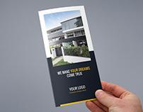 Brochure – Builder Tri-Fold Template