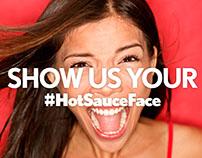 #HotSauceFace