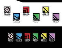 Corpo Holding - Abstract Logo School Project 2013