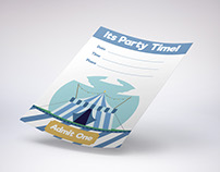 Party Invitation Illustrations