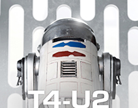 A hand made tribute to R2-D2
