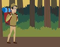 Illustration for Motion Graphics Video