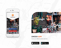 Swerv Mobile App - UX and Branding