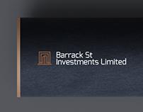Barrack St - Brand Identity