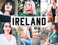 Free Ireland Mobile & Desktop Lightroom Preset