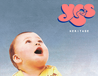 YES - Vinyl Album Design