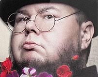 Shane Koyczan - tour promotion graphics