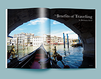 The Benefits of Traveling Magazine Article