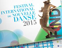 Catalogue du festival de la nouvelle danse