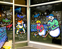 NHL Headquarter - Lobby Windows