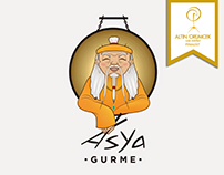 Asya Gurme için Web Sayfası