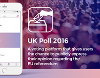 Voting Platform App Design for UK Referendum 2016