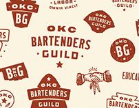 OKC Bartenders Guild - Identity System