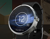 Behance Watch Faces for Andriod Wear