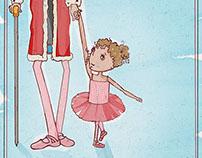 Ballerina King Spaghetti Toes