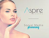 Aspire Med Spa - Social Media